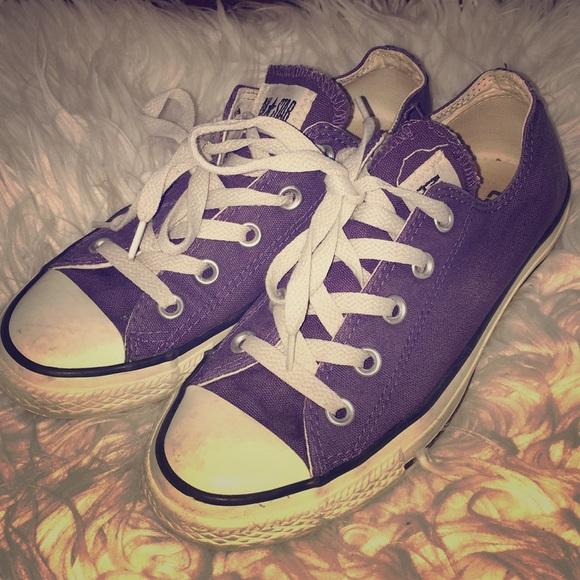converse shoes purple